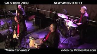 "New Swing Sextet ""Maria Cervantes"" videosalsa 522"