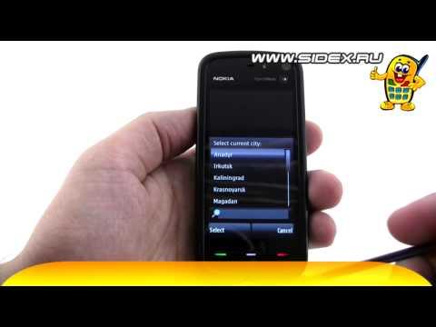 Sidex.ru: Видеообзор смартфона Nokia 5800 XpressMusic Navi (rus)