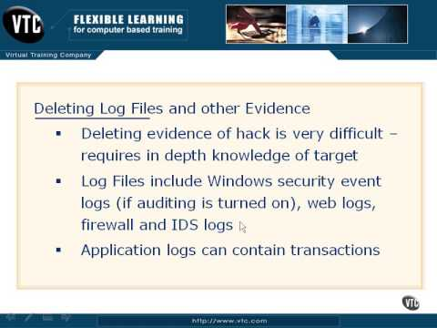 03 Deleting Log Files & Other Evidence Pt 1