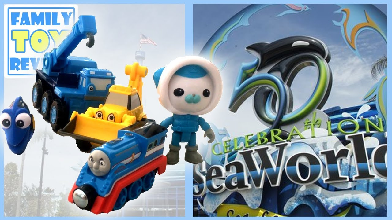 Octonauts Toys Go To Seaworld Thomas Friends Bob The