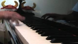 """楽譜はドレミ楽譜出版社の""""ピアノ・ソロ・アルバム「コクリコ坂から」"""" のものを 使いました。物語の後半に学生たちが合唱する曲ですね。ちな..."""