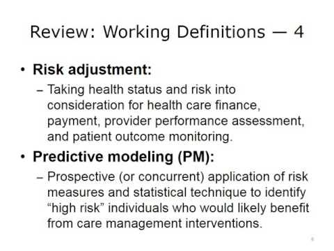 Risk and Its Measurement in Population Health