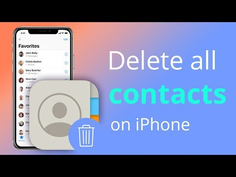 Ways to Delete Contacts on iPhone 5s 5c 5 4s iOS 7 English Channeliphone.
