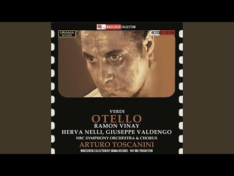 Otello, Act II: Act II: Ora e per sempre addio (Otello)