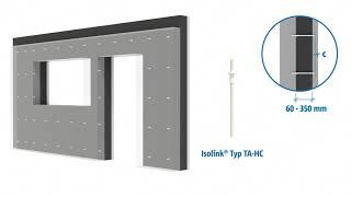 Schöck Isolink® TA-H i TA-D  izolacja do ścian warstwowych