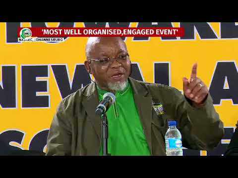 State of Readiness of ANC Conference media brief with secretary general Gwede Mantashe