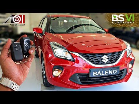 2020 Maruti Suzuki Baleno BS6 Zeta | On Road Price List | Mileage | Features | Specs | Pearl Red