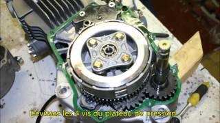 Démontage et montage de l'embrayage des moteurs YX150 et 160cc