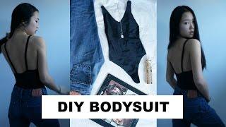 DIY BODYSUIT OUT OF LEGGINGS