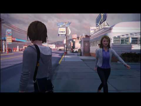 Video Game Ambience Asmr - (Life is Strange) Waiting for the Bus CH.2 (Relaxation/White Noise)