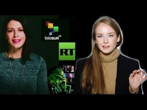 Mas Vale Tarde; Por Fin, La Rubia De RT Dice La VERDAD Sobre Venezuela!