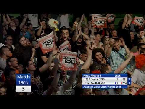 Phil Taylor v Michael Smith - 2016 Austrian Darts Open Final