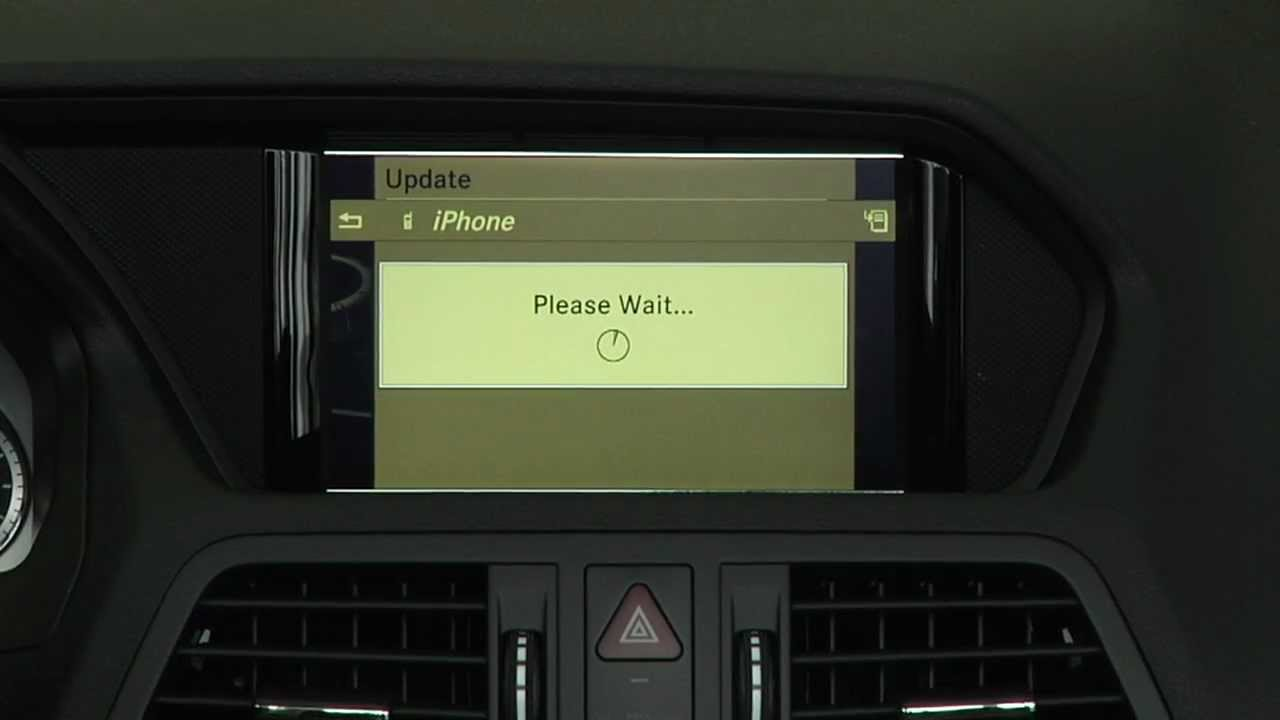 How to bluetooth set up iphone mercedes benz feldmann for Feldmann mercedes benz