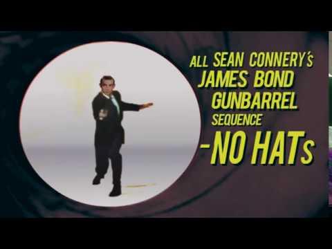 ALL SEAN CONNERY's JAMES BOND GUNBARREL SEQUENCE MINUS HAT
