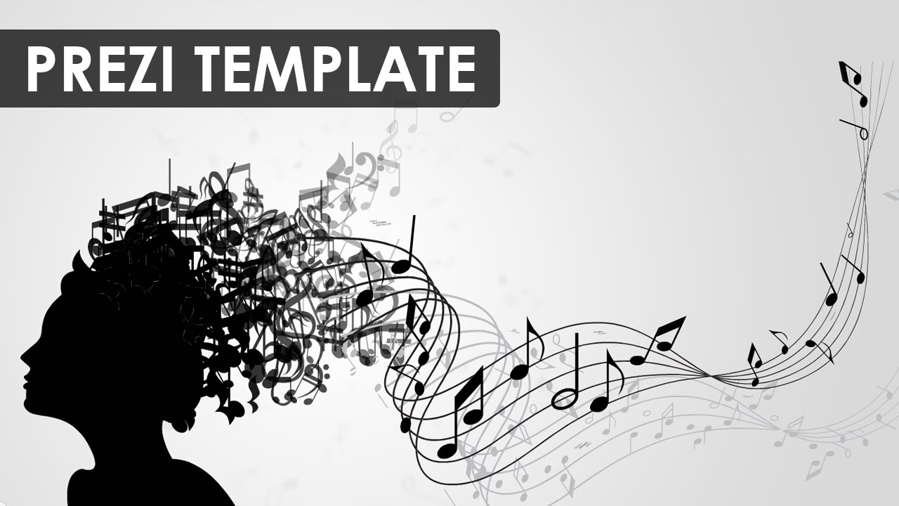 music presentation template