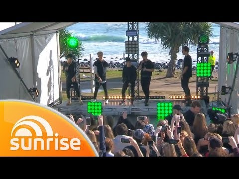 Why Don't We Perform 'Trust Fund Baby' Live On The Gold Coast | Sunrise