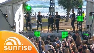 Why Don't We perform 'Trust Fund Baby' live on the Gold Coast   Sunrise