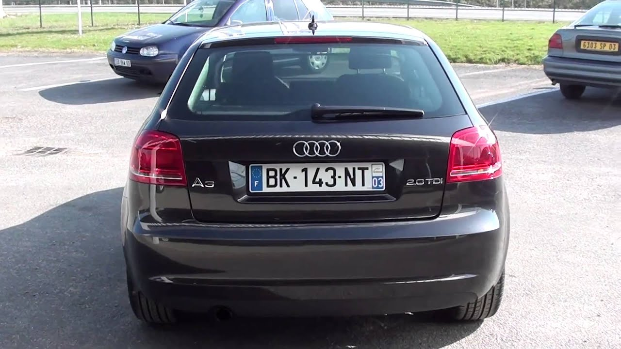 audi a3 2 0 tdi 140 ambition youtube. Black Bedroom Furniture Sets. Home Design Ideas