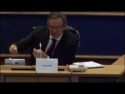 Audiencia de Steven Maijoor, Presidente de ESMA