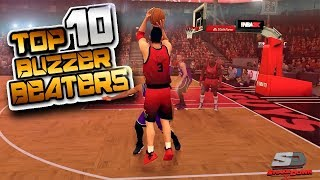 NBA 2K19 Top 10 Incredible Buzzer Beaters & Game Winning Shots #31