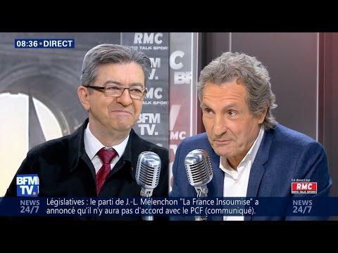 LÉGISLATIVES : «NOUS SOMMES EN CAMPAGNE POUR GAGNER» - Mélenchon