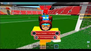 Playing as goalkeeper (Ro Evolution Soccer) Roblox