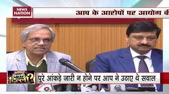 Election Commission Briefs Media On Delhi Assembly Poll