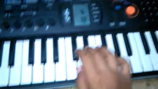 we shall overcome song on casio