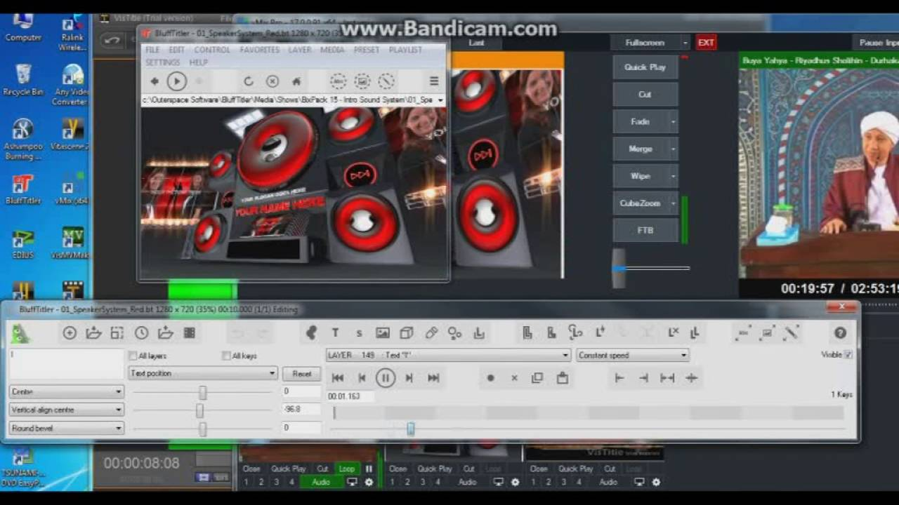 tutorial VIStitle & Blufftitler marger to VMIX - YouTube