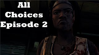 The Walking Dead Michonne Game Episode 2 Give No Shelter All Choices / Alternative Choices