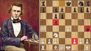 Unimaginable || Paulsen Vs Morphy 1857 || 1st American Chess Congress
