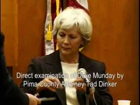 22 Testimony Gila Co. Elections Director Dixie Munday Pima County Election Integrity