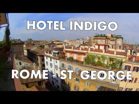 I found the best boutique hotel in Rome - Hotel Indigo St. George