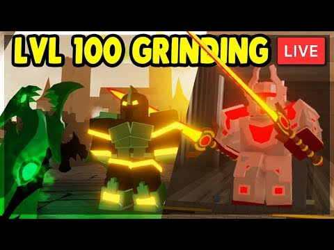 🔴 KINGS CASTLE LEVEL 103+ XP & LEGENDARY GRINDING WITH SUBS | Roblox Dungeon Quest LIVE