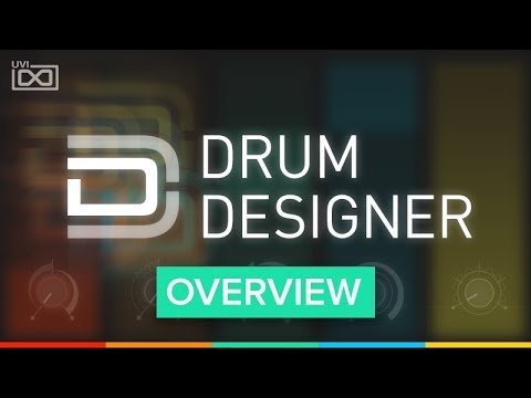 UVI Drum Designer | Overview