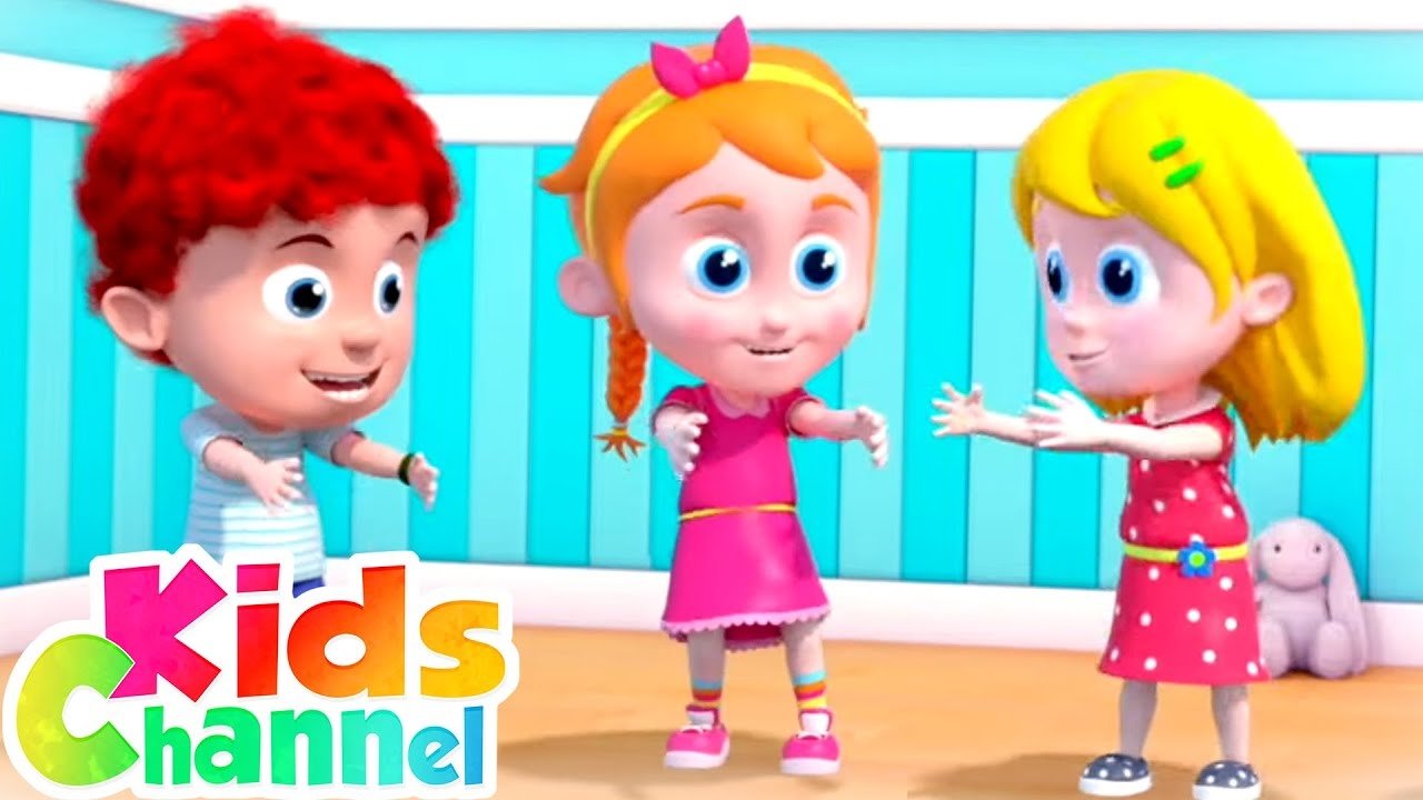 Exercise Song    Schoolies Cartoon Videos   Learn Exercise  from Kids Channel