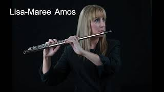 Lisa-Maree Amos performs Narcissus by Thea Musgrave for Solo Flute and Digital Delay