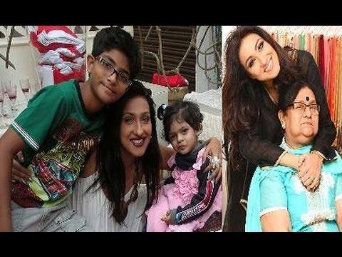 Rituparna Sengupta Family Album | ঋতুপর্ণা সেনগুপ্তা পরিবার | Rituparna Sengupta with her Family