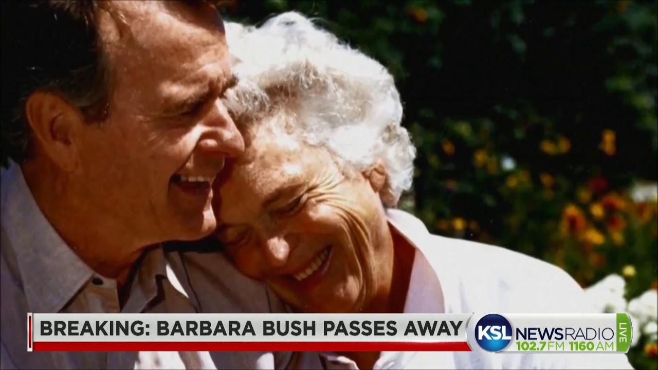 Image result for barbara bush youtube