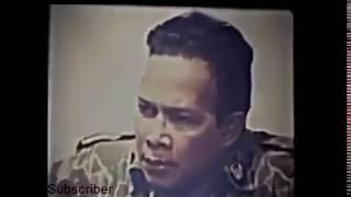 Vidio ASLI G 30  S PKI -Detik Detik Pemakaman 7 Jendral Yang Terbongkar Di Lubang Buaya