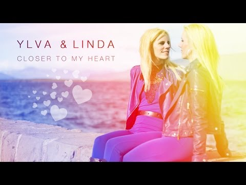 Closer to my heart 💜 Lyric video - Ylva & Linda