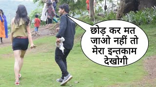 Mera Intqam Dekhegi Prank On Attitude Girl In Mumbai By Desi Boy With Twist Epic Reaction