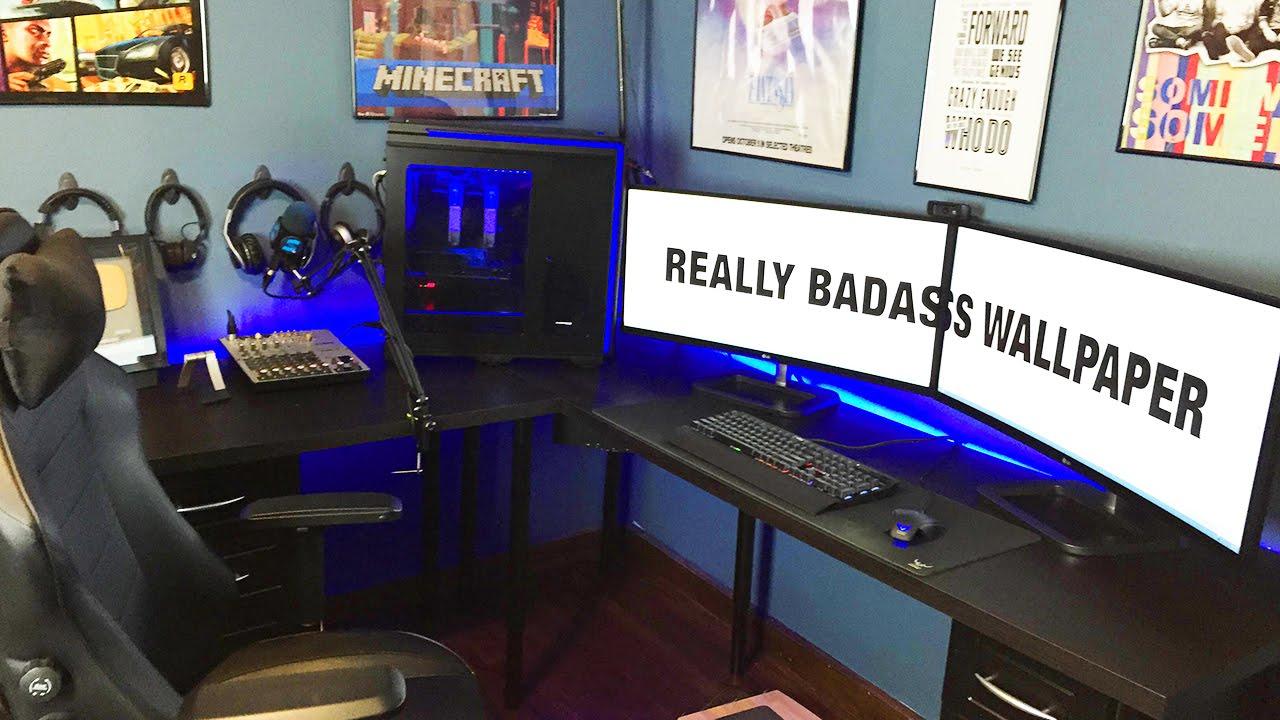 Cable Management Fun Pimp Matt S Setup 17 Youtube