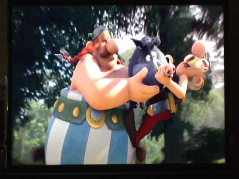 C. Ernst Harth as Obelix in ASTERIX: THE MANSIONS OF THE GODS