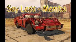 Car Musik Say Less - MEMBA #CROSSOUT