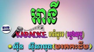 29.អានី-ភ្លេងសុទ្ធ ខារ៉ាអូខេ | Any | Karaoke Pleng Sot | BVB KHMER