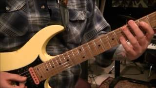 How to play I DONT KNOW by OZZY OSBOURNE on guitar by Mike Gross