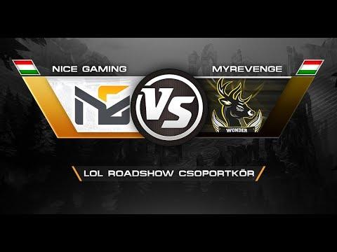 Nice Gaming vs Wonderstag Esports  - LOL Roadshow csoportkör