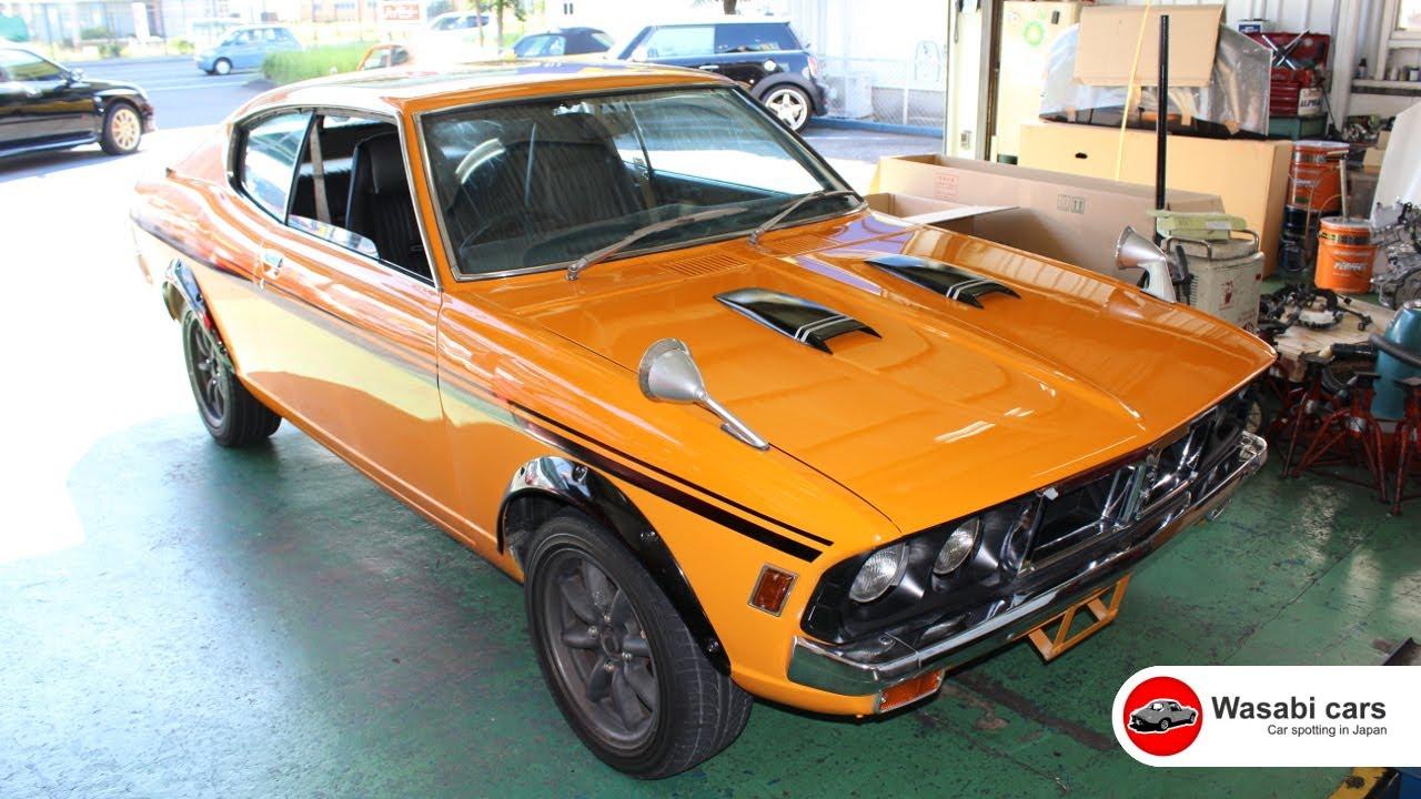 Spotted A 1971 Mitsubishi Colt Galant Gto Mr Youtube
