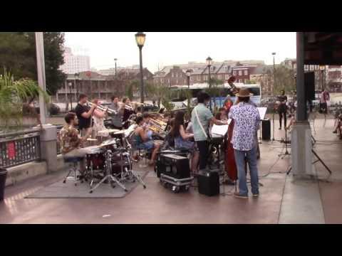 Harborfields High School Jazz Band New Orleans 2017 p1
